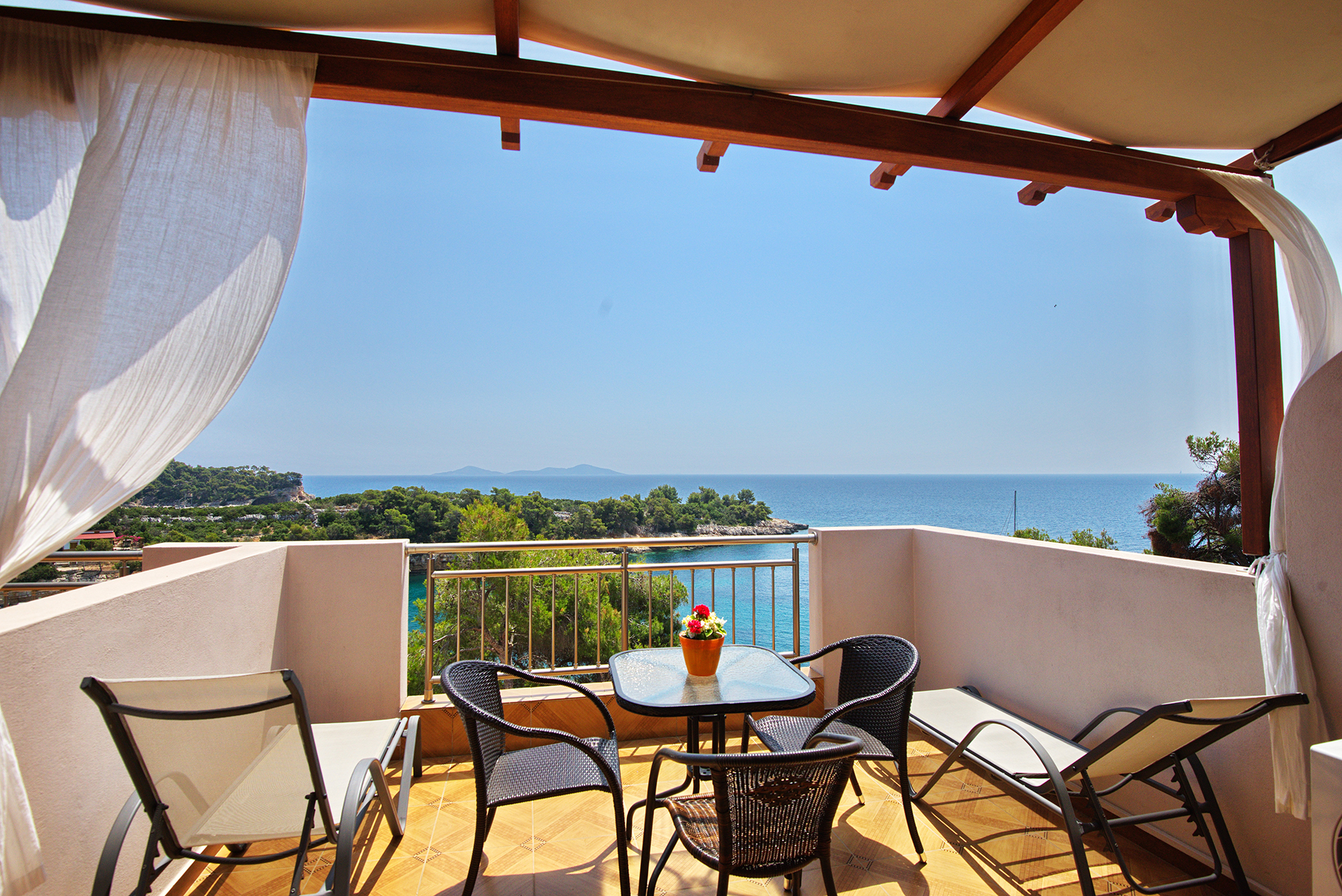 Marilena Apartments View Balcony!