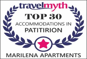 TravelMyth Top 30 Accomodation Award
